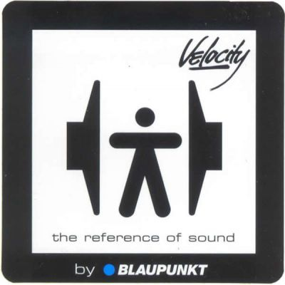 Sticker Vélocity by Blaupunkt