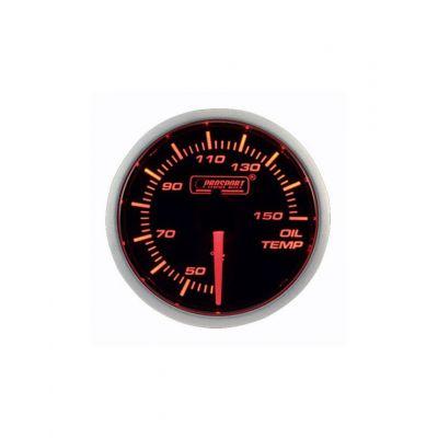 Manomètre Prosport Température Huile Diamètre 52mm 150°C + Sonde
