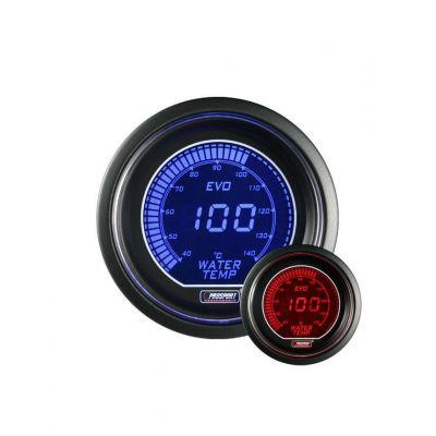 Manomètre Prosport Température Eau Digital Diamètre 52mm 140°C + Sonde